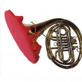 French Horn Bell Cover in Red