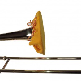 Trombone Bell Cover in Gold