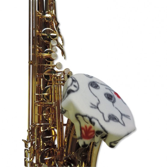 Saxophone Bell Cover in Cats