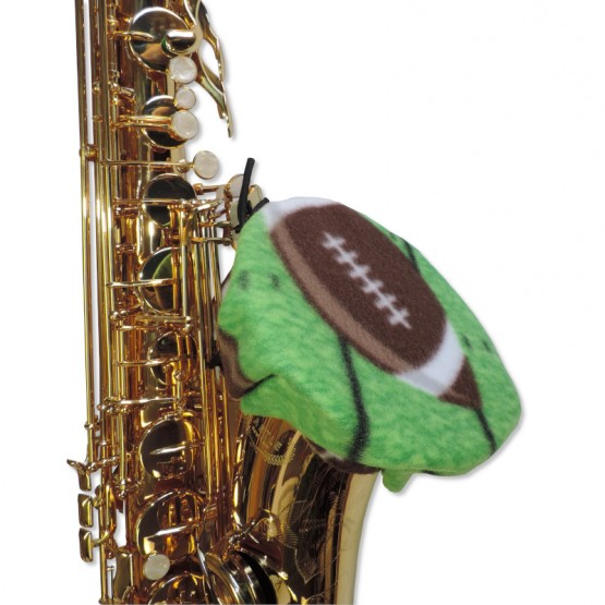 Saxophone Bell Cover in Football