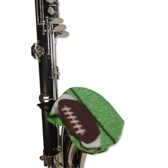 Bass Clarinet Bell Cover in Football