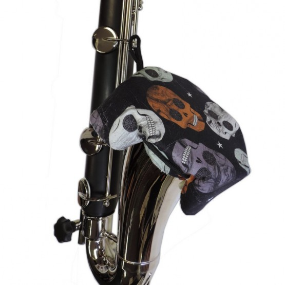 IBAM Bass Clarinet bell cover in Skull