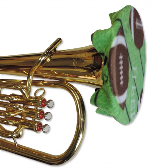 Euphonium Bell Cover in Football