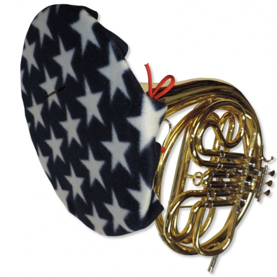 French Horn Bell Cover in Stars