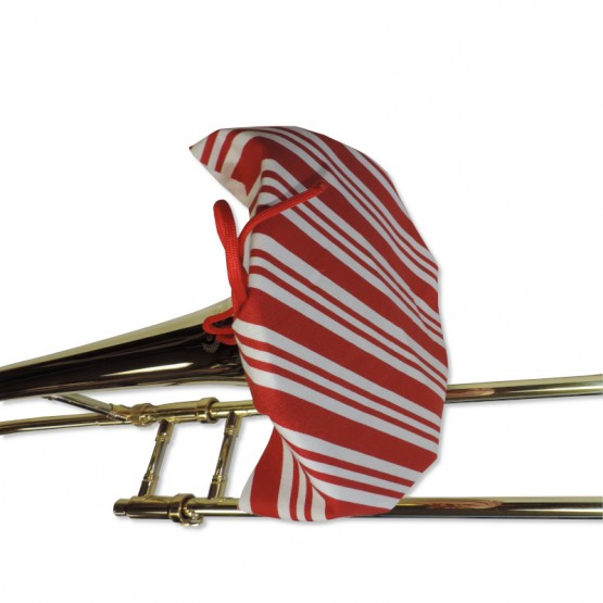 Trombone Bell Cover in Candy Cane