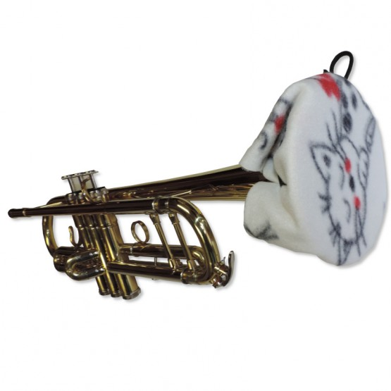 Trumpet Bell Cover in Cats