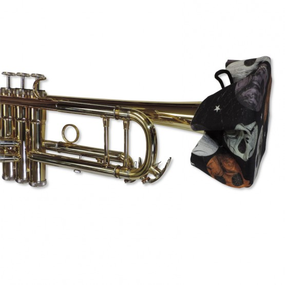 Trumpet Bell Cover in Skull