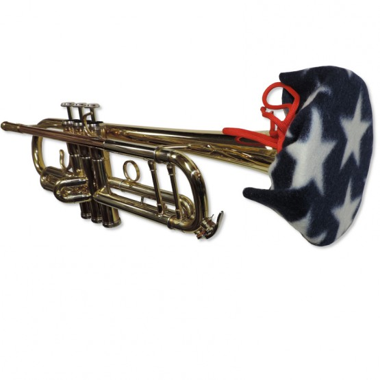 Trumpet Bell Cover in Stars